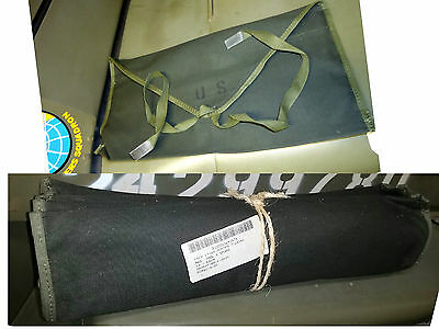 Nos Us Army Canvas Tool Bags Jeep Mb Gpw M38 M38A1 M151 M37 M715 Cckw