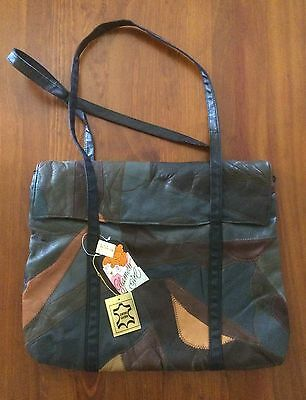 Glamour Girl Vintage Leather Bag- As New