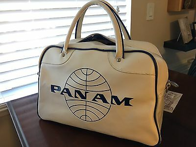 Pan Am Bag Luggage Large Carry On Cabin NWT Retro Vintage Inspired Weekender Gym