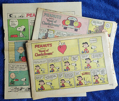 Peanuts 1972 51 Sunday comic strips - Charles Schulz