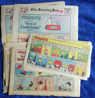 Peanuts 1973 51 Sunday comic strips - Charles Schulz