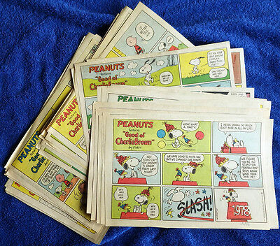 Peanuts 1978 53 Sunday comic strips - Complete - Charles Schulz