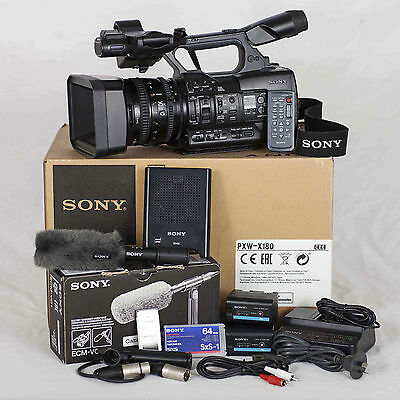 Sony Pxw-X180 Digital Video Camcorder & Accessories