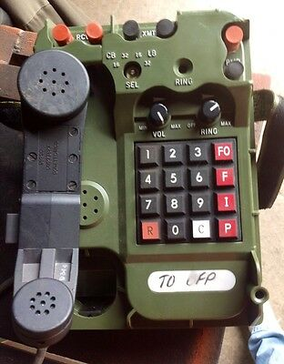 ***BLOW OUT SALE!!!***  Military Field Phone - TA-1042 A/U