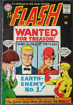 The Flash #156 - Wanted for Treason! Earth-Enemy No. 1!