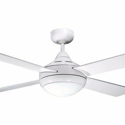 """NEW Martec Four Seasons Primo 48"""" Timber Ceiling Fan with Light"""
