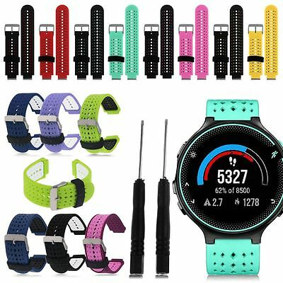 22mm Soft Pulseras de Silicona Para Garmin Forerunner 235 630 230 GPS Watch