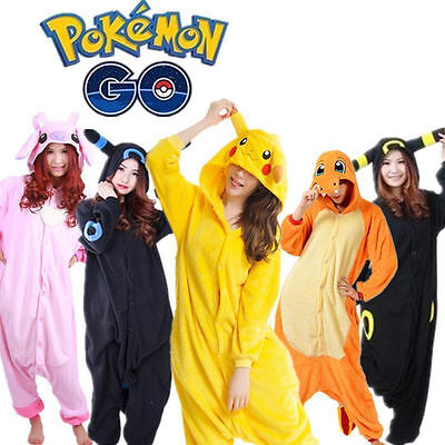 New Adult Unisex Kigurumi Pajamas Animal Cosplay Cat costume sleepwear