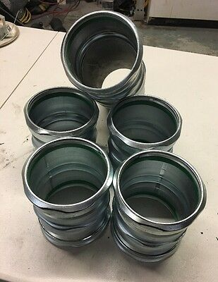 "Brand New Lot Of 5 4"" EMT Rain Tight Couplings"
