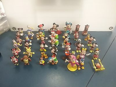 42 x Assorted Mickey Mouse Minnie Donald Duck Lion King Pooh Bear Cake Toppers