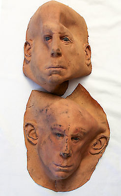 The Extreme Adventures of Super Dave (2000) Stunt Mask Movie Prop Set of 2