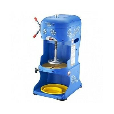 Commercial Shaved Ice Machine Snow Cone Maker Hawaiian Crusher Slushy Carnival