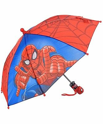 Spider-Man Umbrella with Molded Handle! Great for Spidy-lover kids!!! NEW