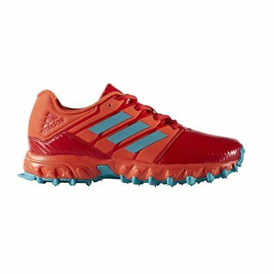 adidas Junior Hockey Shoes - Red Aqua