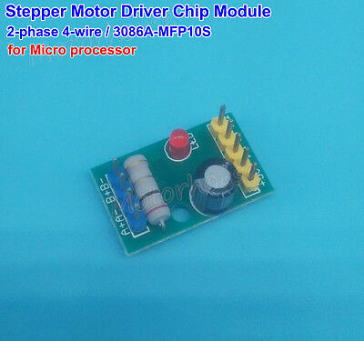 DC 5V 2-phase 4-wire Mini stepper motor Driver Chip Module Board 3086A-MFP10S
