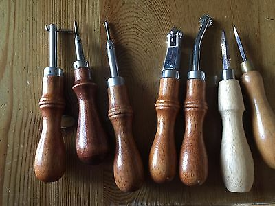 Leather tools 1 - Workshop Closure - Many Bargains!!