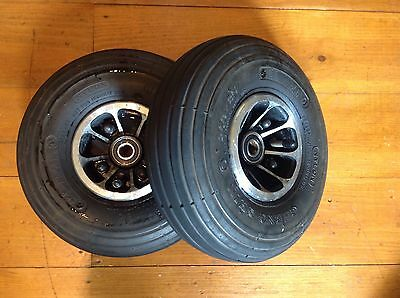 Prestige Adventurer Compact 6mph Wheels and Tyres 260 x 85 Front Pair