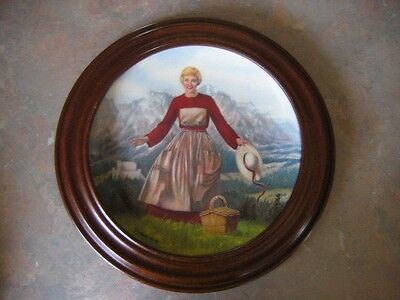 Sound of Music plate series – collection of 4 plates
