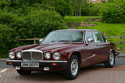 1982 Daimler Sovereign 4.2 Claret red with Doeskin Hide. VERY LOW MILEAGE! 45K