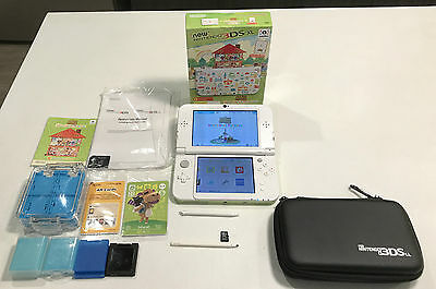 As New Nintendo 3Ds Xl Animal Crossing Edition Boxed With Game & Accessories