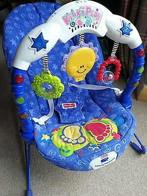 Fisher Price Kick & Play chair bouncer