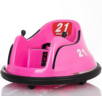 12V Children's Waltzer Car Battery Operated Electric Ride On Toy -Pink