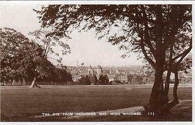 The Rye from Wendover Way High Wycombe RP pc used 1952 M&L National