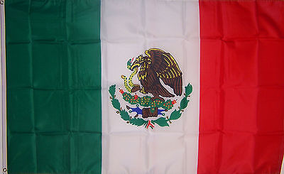 NEW 3ftx5 MEXICO MEXICAN FLAG  au