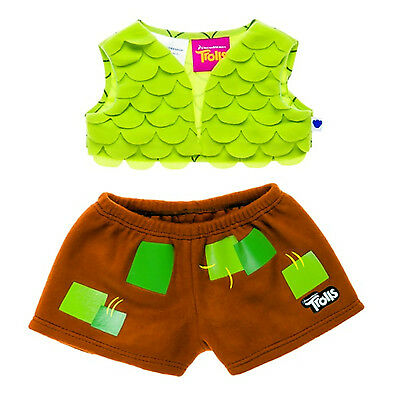 Dreamworks Trolls Branch Costume Outfit Build A Bear 2 Piece Set