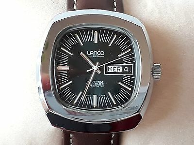 LANCO Automatic 25 jewels incabloc - Swiss Made Watch