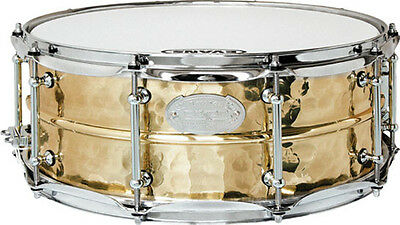 "Dixon Artisan Snare Hammered Brass 14"" x 6,5"" *TOP*"