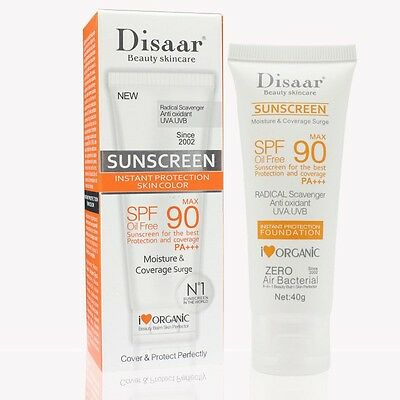Intensive UV Sunblock Cream Waterproof Sunscreen Lotion Skin Moisturizing SPF50+