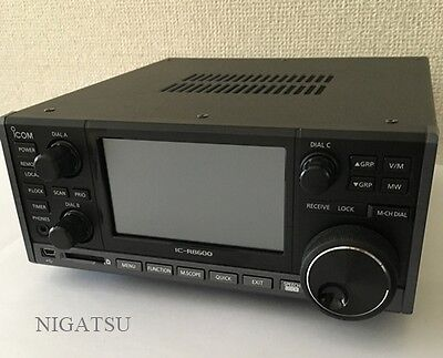 NEW ICOM IC-R8600 Wideband Receiver with Multiple Digital Mode Decode from JAPAN