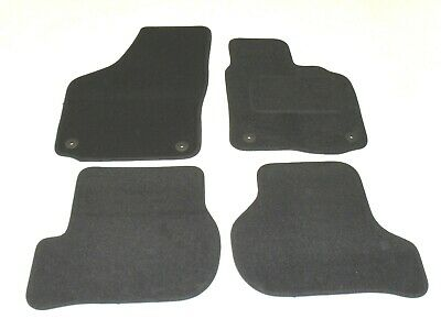 Seat Leon 2005-2009. Fully Tailored Deluxe Car Mats in Black