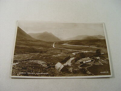 TOP9765 - Valentine's Real Photo Postcard - Erriff Valley, Connemara 1944