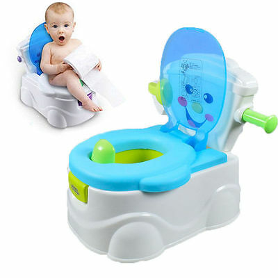 Baby Child Toddler Kids Bathroom Training Toilet Potty Trainer Urinal Seat Chair