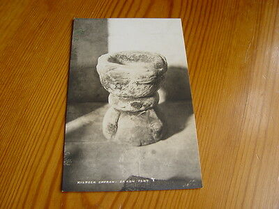 TOP5883 - Postcard - Kilpeck Church Saxon Font
