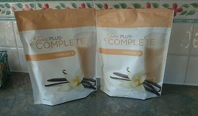 2 new sealed Juice Plus Shakes Vanilla b/b from 11/ 2017