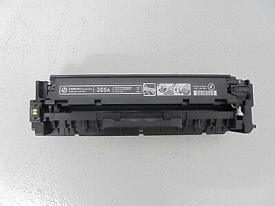HP LaserJet 305A CE410A Black Toner Cartridge - GENUINE ORIGINAL - Approx 100%
