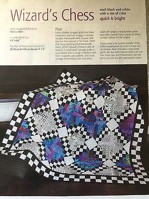 Quilt Pattern from Magazine/Book - Wizard's Chess