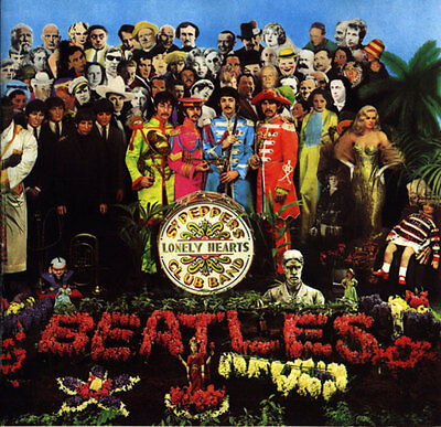 Beatles Sgt Peppers Lonely Hearts Club Band Fridge Magnet