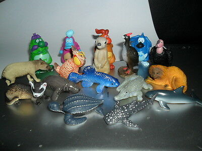 Yowie Yowies, NEW RELEASE * US SERIES 2, * INCOMPLETE SET OF 17 * + FULL PAPERS