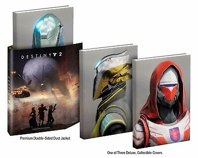 Destiny 2 Collectors Edition Strategy Guide Hardback - In Stock - NEW