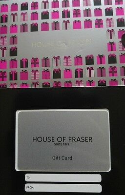 House of Fraser £80 Gift Card Voucher
