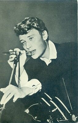 Johnny Hallyday  - Original Dutch Postcard 1962/ Printed By Syba Enkhuizen