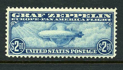 Scott C15 Mint Graf Zeppelin Perfect Gum Never Hinged Beauty VF/XF Centering