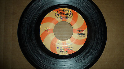 The Rev Dr Martin Luther King Jr 'i Have A Dream' 72814 Mercury Records 1968 Us