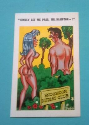 Sunny Pedro Series Post Card Seaside Saucy Comic Humour no 160 Unposted
