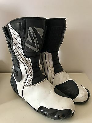 Motorcycle Boots Size 11 Frank Thomas
