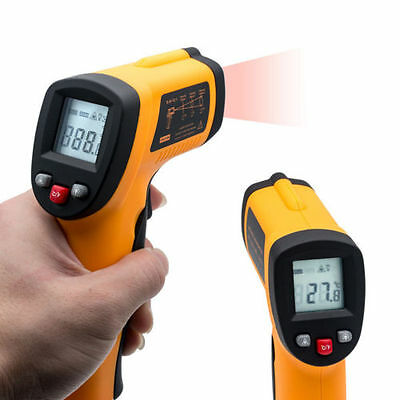 Digital Non-Contact Body & Surface Temperature Gun IR Infrared Thermometer GOW
